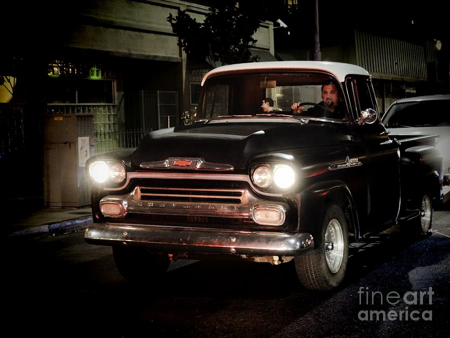 Classic Photograph - Chevy Pickup Truck by Nina Prommer
