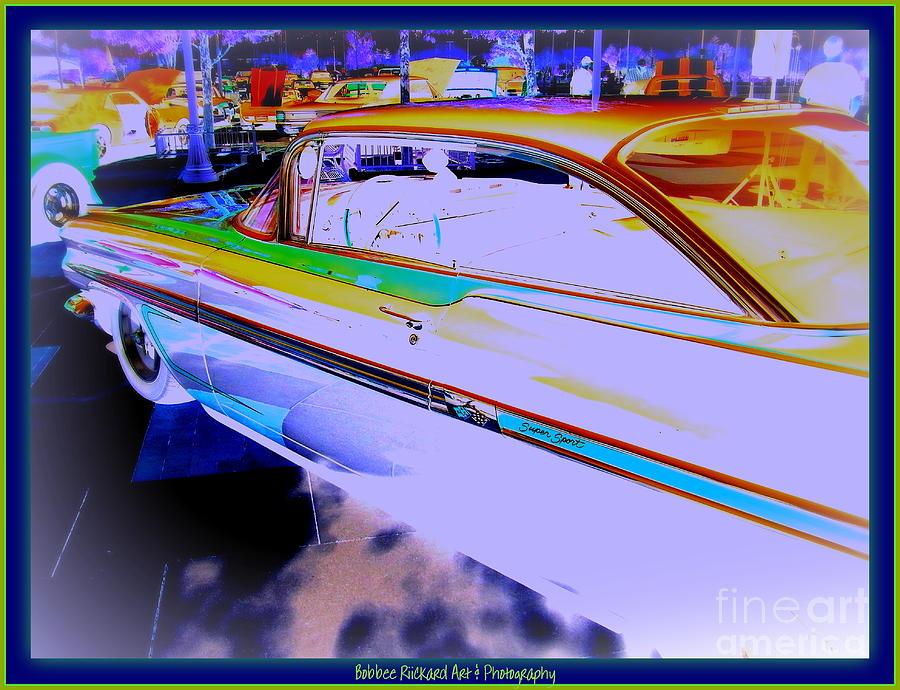 Chevy Photograph - Chevy Psycho Delic by Bobbee Rickard
