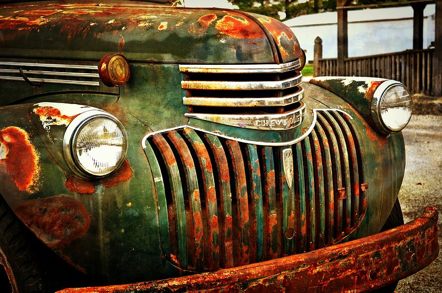 Chevy Photograph - Chevy Truck by Marty Koch