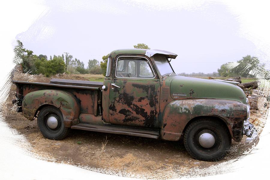 Chevy Truck Still Working by Judy Deist