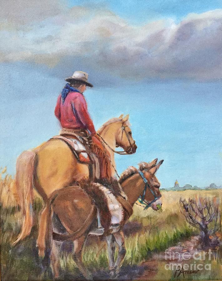 Cheyenne on the Horrizon  by Patricia Amen