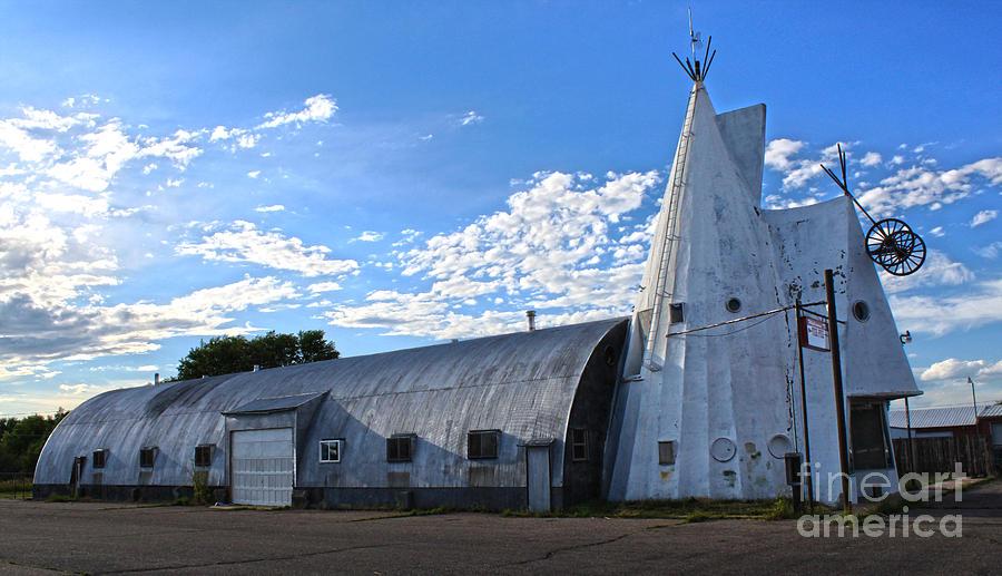 Cheyenne Photograph - Cheyenne Wyoming Teepee - 01 by Gregory Dyer