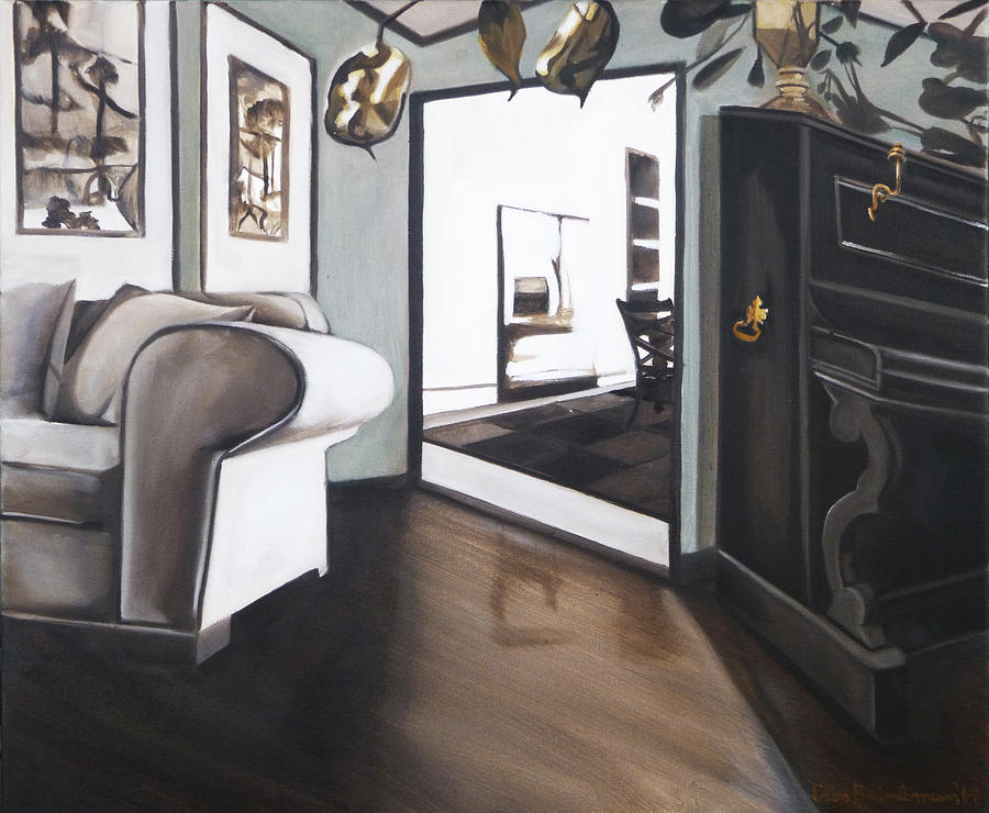 Still Life Painting - Chez Moi by Erin Brinkman