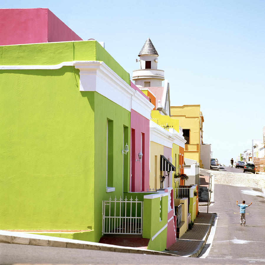 Bo Kaap Photograph - Chiappini Street by Shaun Higson