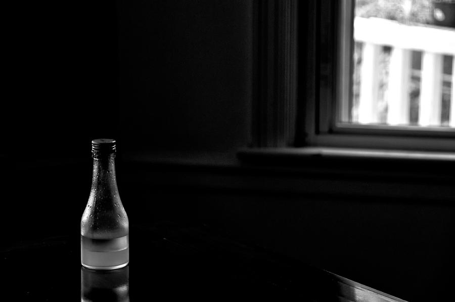 Bottle Photograph - Chiaroscuro by Guillermo Hakim
