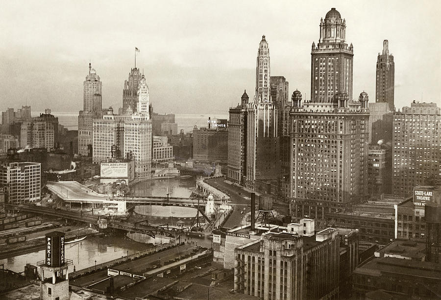 1931 Photograph - Chicago, 1931 by Granger
