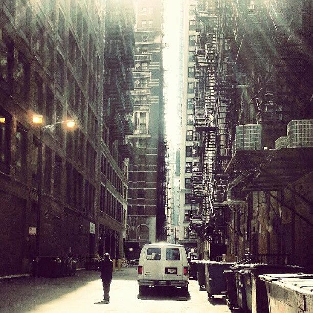 Chicago Photograph - Chicago Alleyway by Jill Tuinier