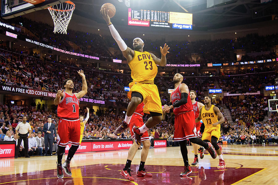 Chicago Bulls V Cleveland Cavaliers - Photograph by Jason Miller