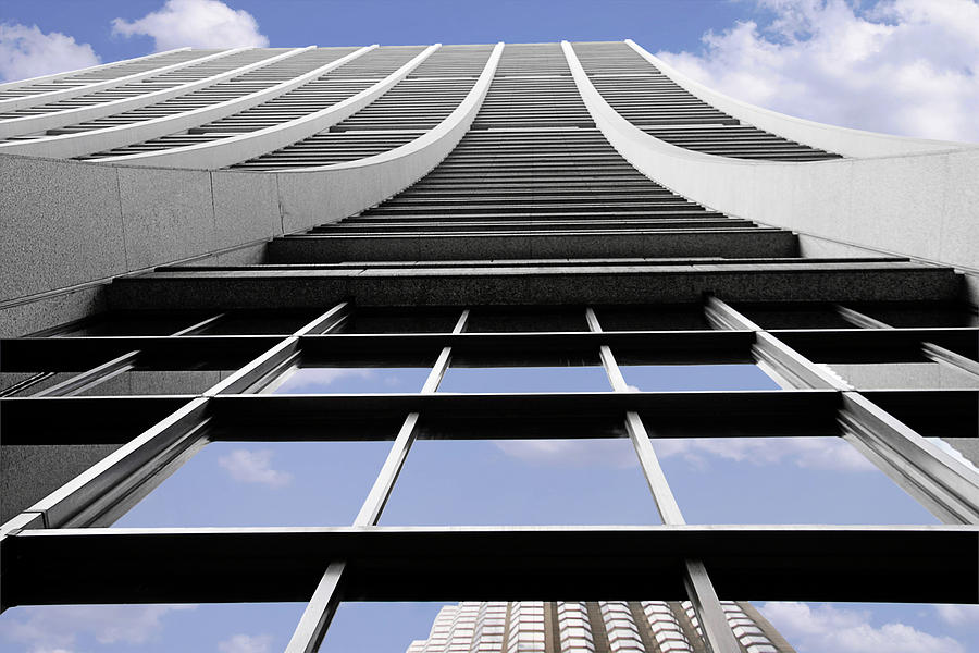 Modernism Photograph - Chicago - Chase Tower by Christine Till
