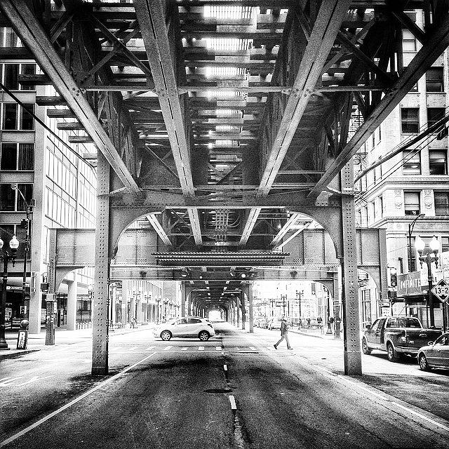 Blackandwhite Photograph - #chicago #chicagogram #blackandwhite by Paul Velgos