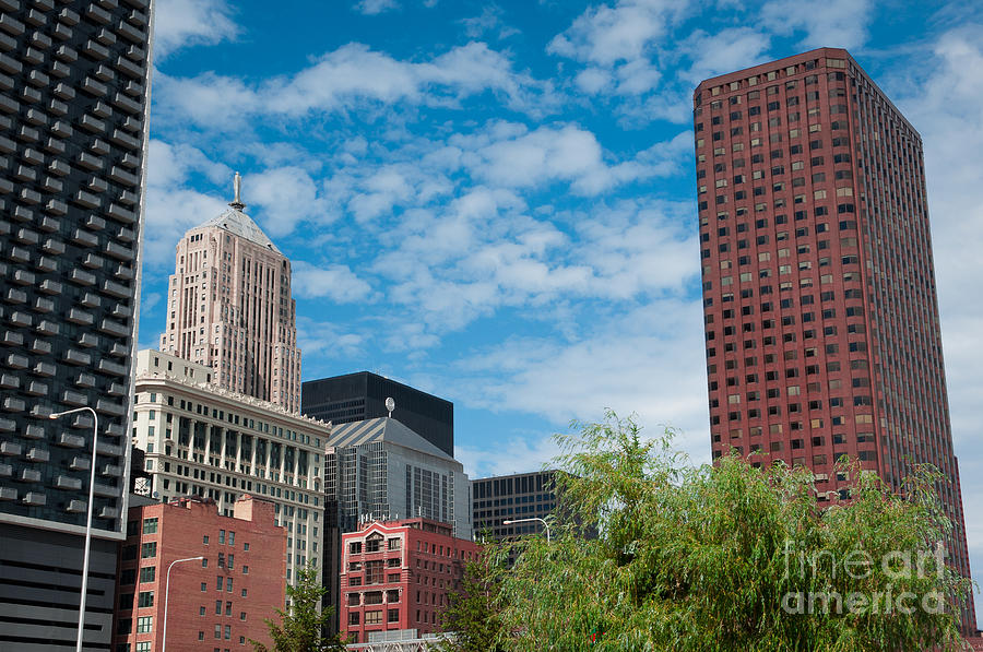 Chicago Downtown Photograph - Chicago Cityscpae by Dejan Jovanovic