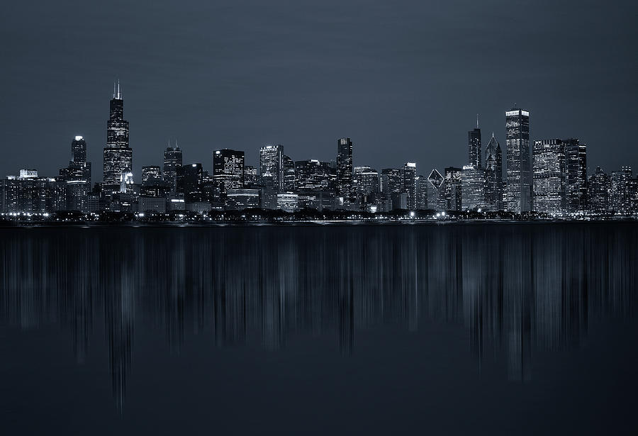 Chicago Photograph - Chicago by C.s. Tjandra