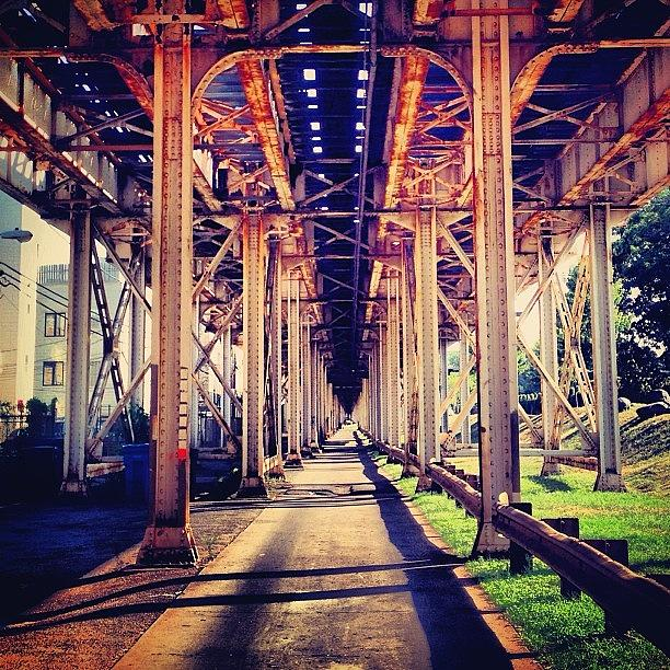 Uptown Photograph - #chicago #cta #uptown #vespa by Michael Green