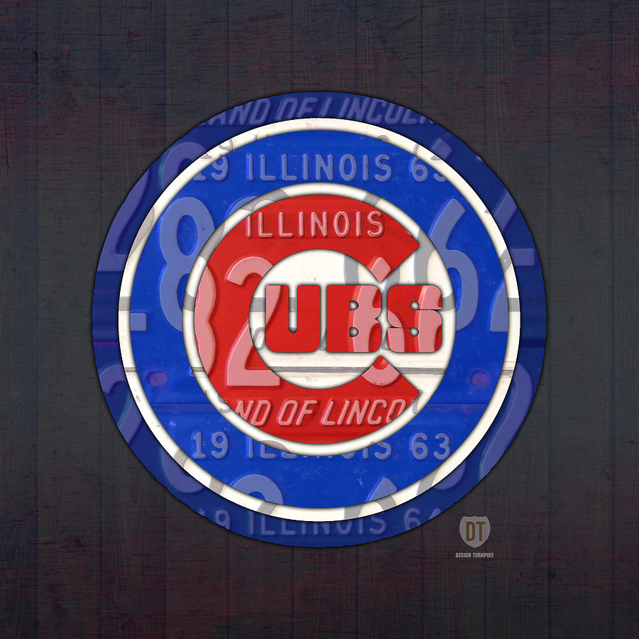 Chicago Cubs Baseball Team Retro Vintage Logo License Plate Art on watercolor usa map, license plates for each state, time usa map, color usa map, golf usa map, reverse usa map, driving usa map, leapfrog interactive united states map, list 50 states and capitals map, flag usa map, motorcycle usa map, decals usa map, state usa map, baseball usa map, basketball usa map, license plate map art, paint usa map, license plate world map, map usa map, art usa map,