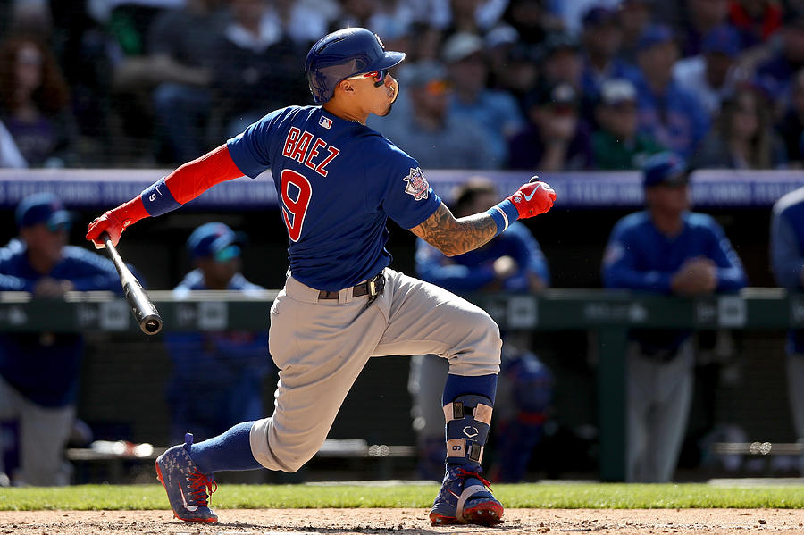 Chicago Cubs v Colorado Rockies Photograph by Matthew Stockman