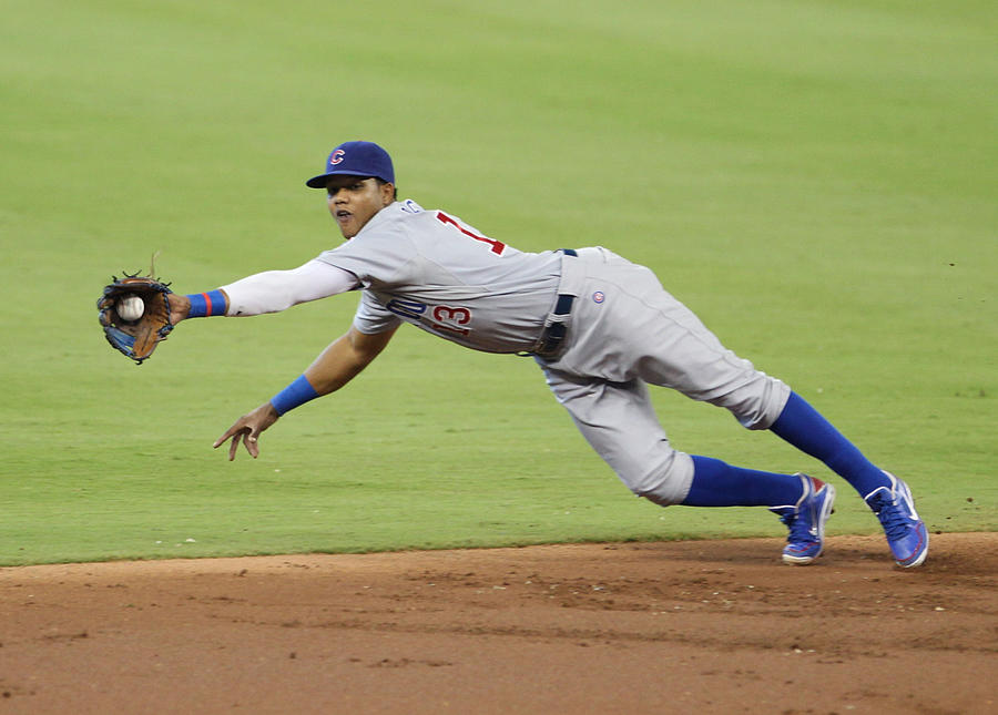 Chicago Cubs V Miami Marlins Photograph by Marc Serota