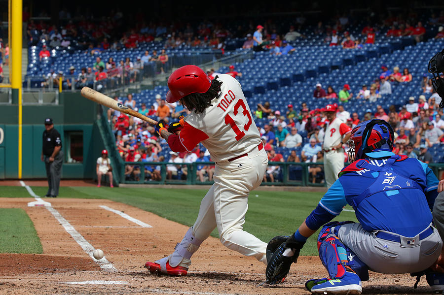 Chicago Cubs V Philadelphia Phillies Photograph by Hunter Martin