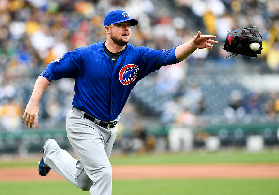 Chicago Cubs V Pittsburgh Pirates Photograph by Justin Berl
