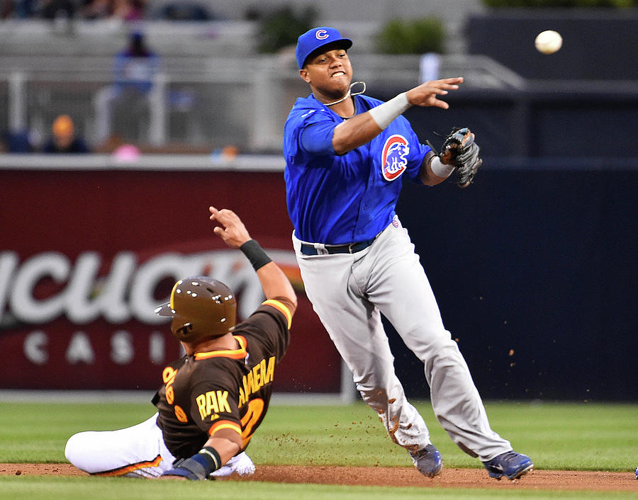 Chicago Cubs V San Diego Padres Photograph by Denis Poroy
