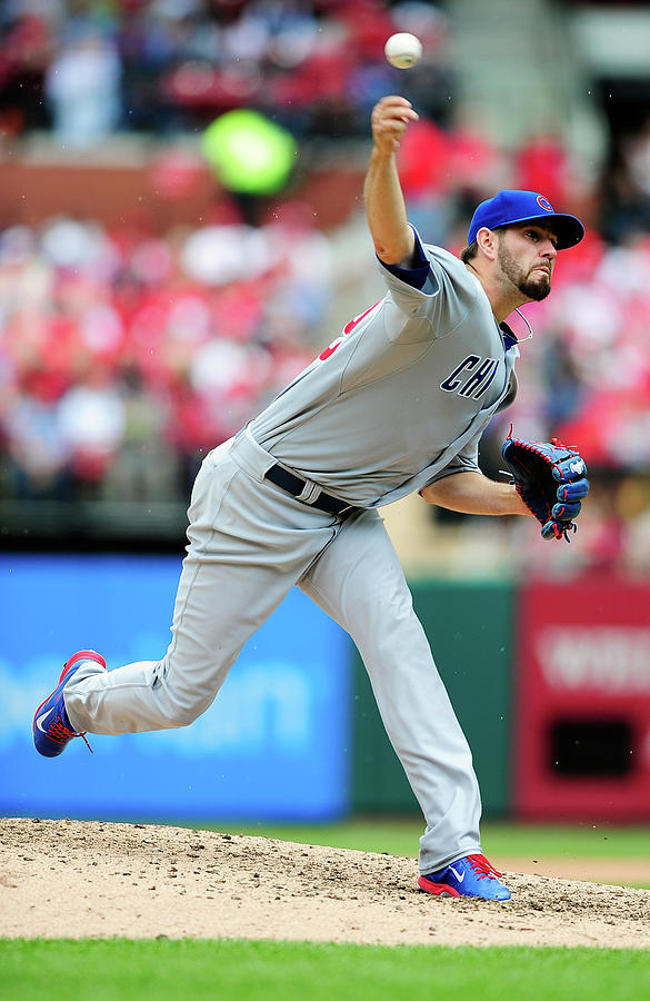 Chicago Cubs V St. Louis Cardinals Photograph by Jeff Curry