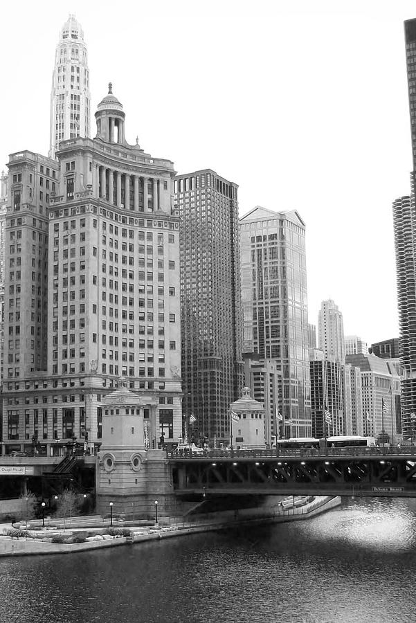 Chicago Downtown Photograph - Chicago Downtown 2 by Bruce Bley