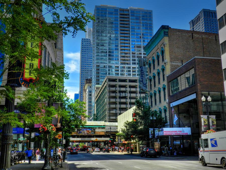 Chicago Photograph - Chicago - E Randolph Street 001 by Lance Vaughn
