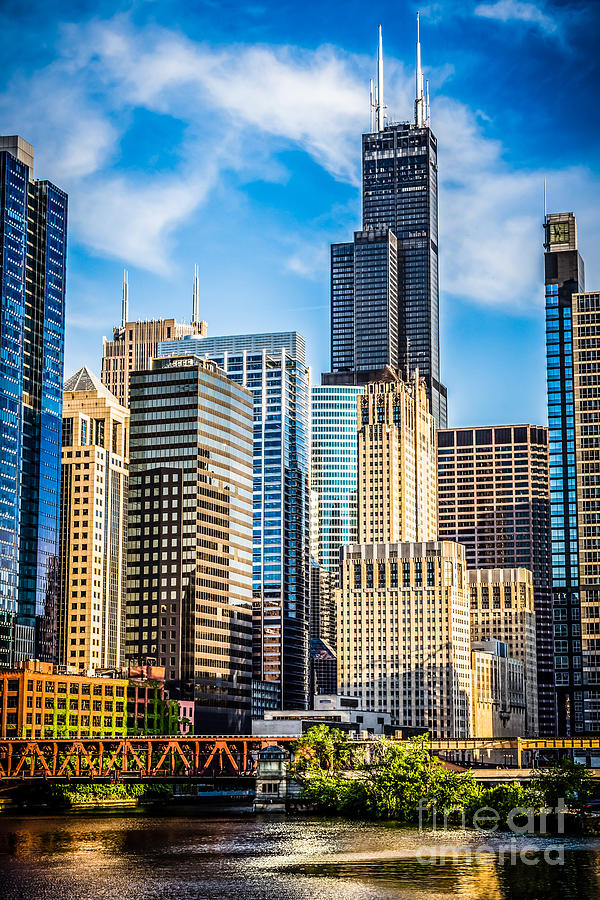 America Photograph - Chicago High Resolution Picture by Paul Velgos