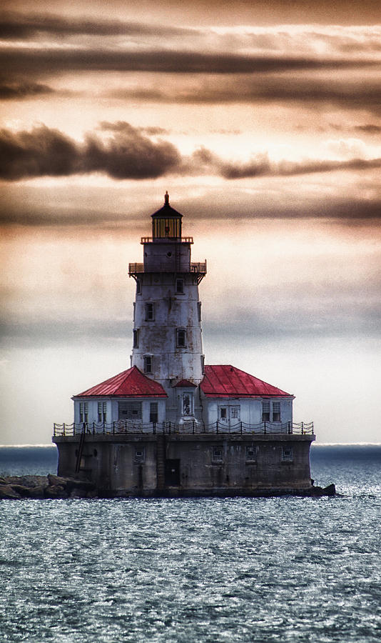 Lighthouse Photograph - Chicago Lighthouse 3 by Christopher Muto