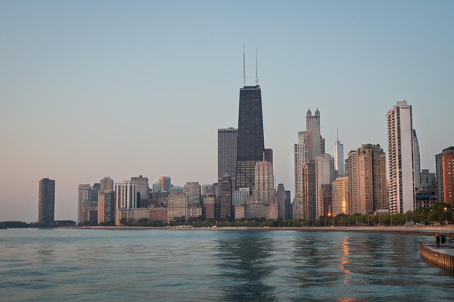 chicago morning by Steve Gadomski