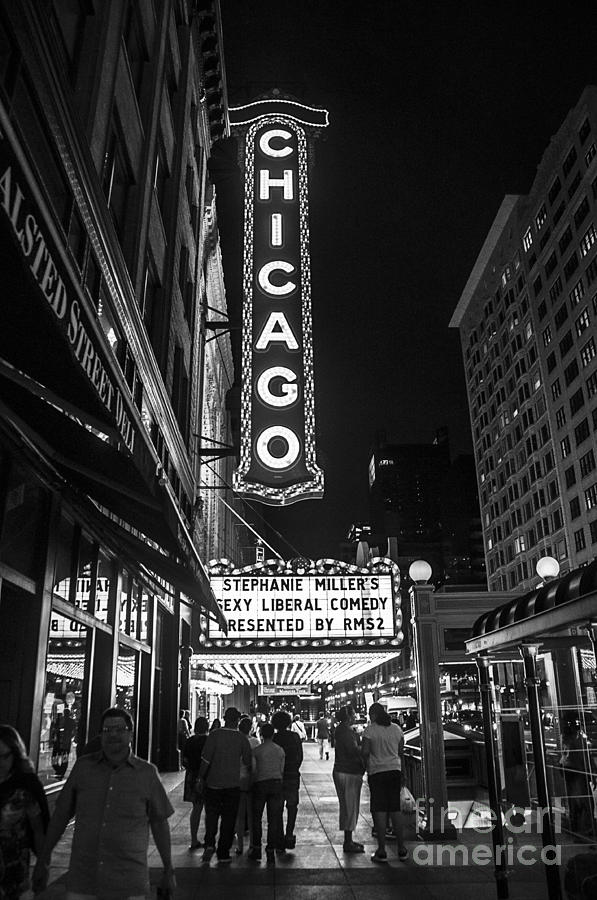 Chicago Photograph - Chicago Nights by Terry Rowe