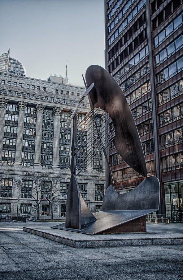 Chicago Photograph - Chicago Picasso by Mike Burgquist