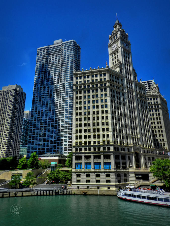 Chicago Photograph - Chicago River 002 by Lance Vaughn