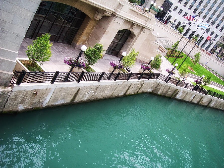 Chicago Photograph - Chicago River by Donna Blackhall