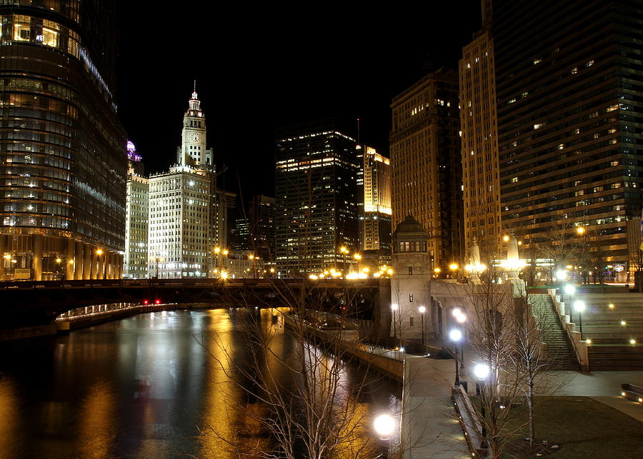Chicago River Photograph by J.castro