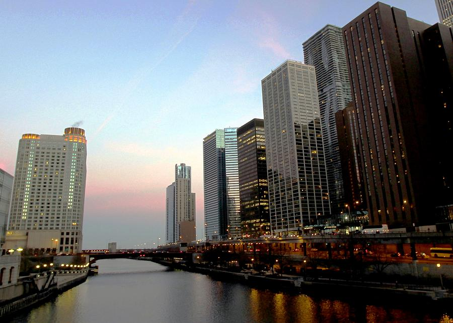 Chicago River Mouth Photograph by J.castro