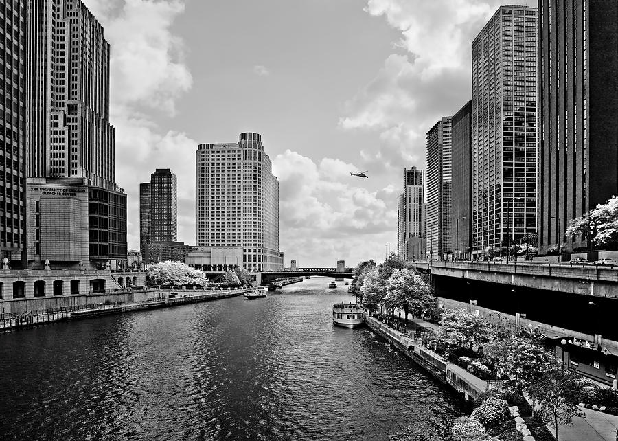 Chicago Photograph - Chicago River - The River That Flows Backwards by Christine Till