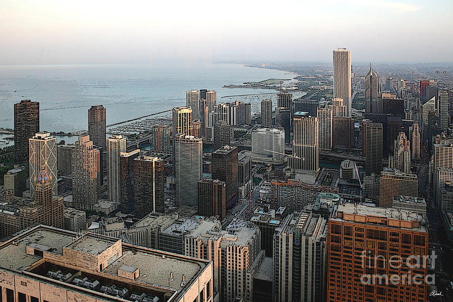 Chicago Photograph - Chicago Shore by Bill Quick