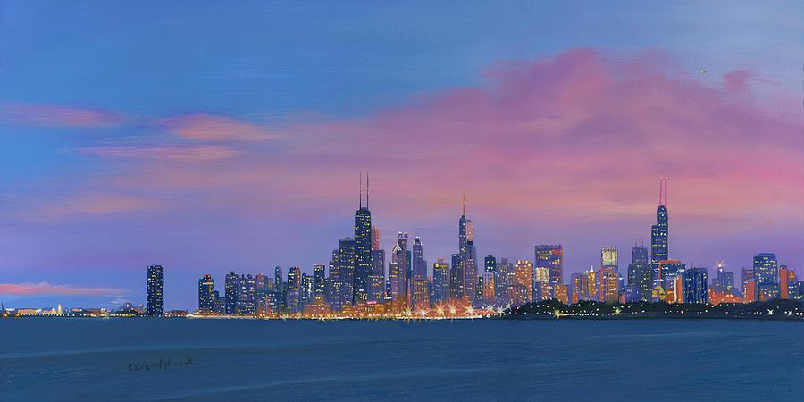 Chicago Skyline by Cecilia Brendel