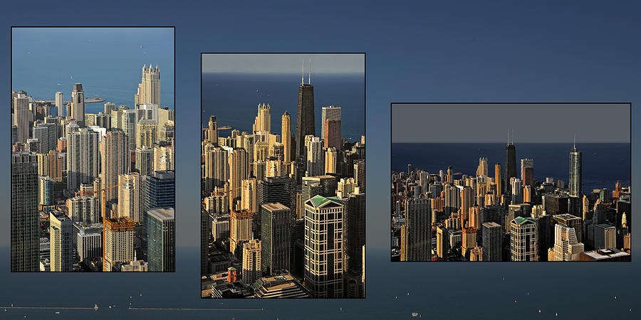 Travel Photograph - Chicago Skyline From Willis Tower by Christine Till