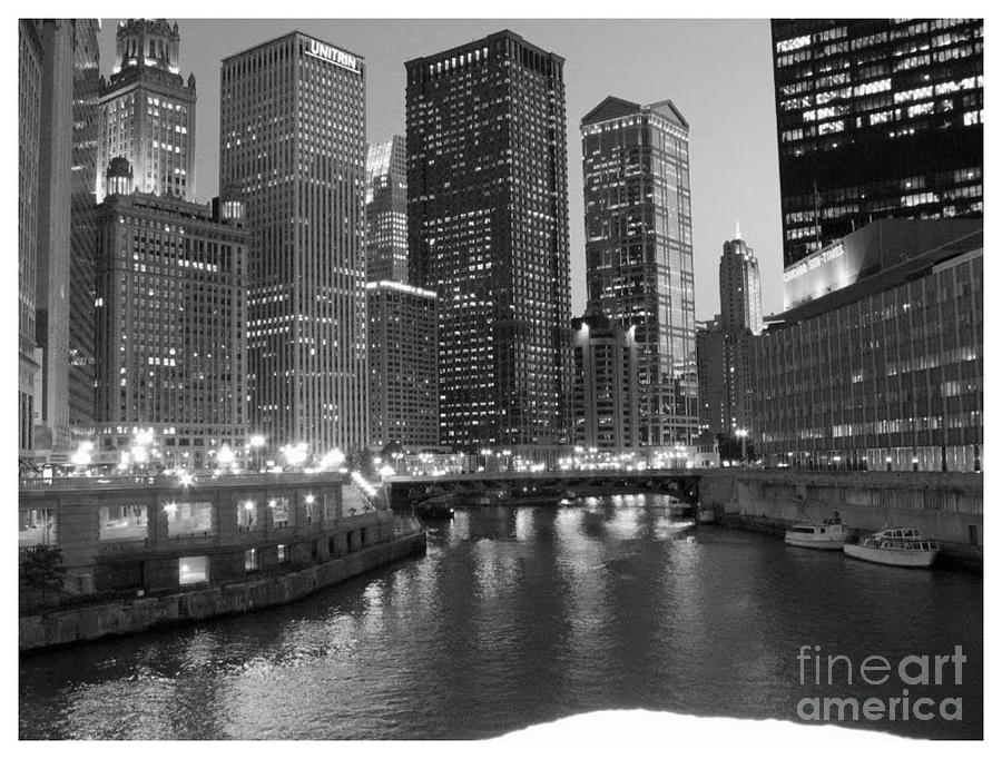 Chicago Photograph - Chicago Sparkle by Jesse Forrister