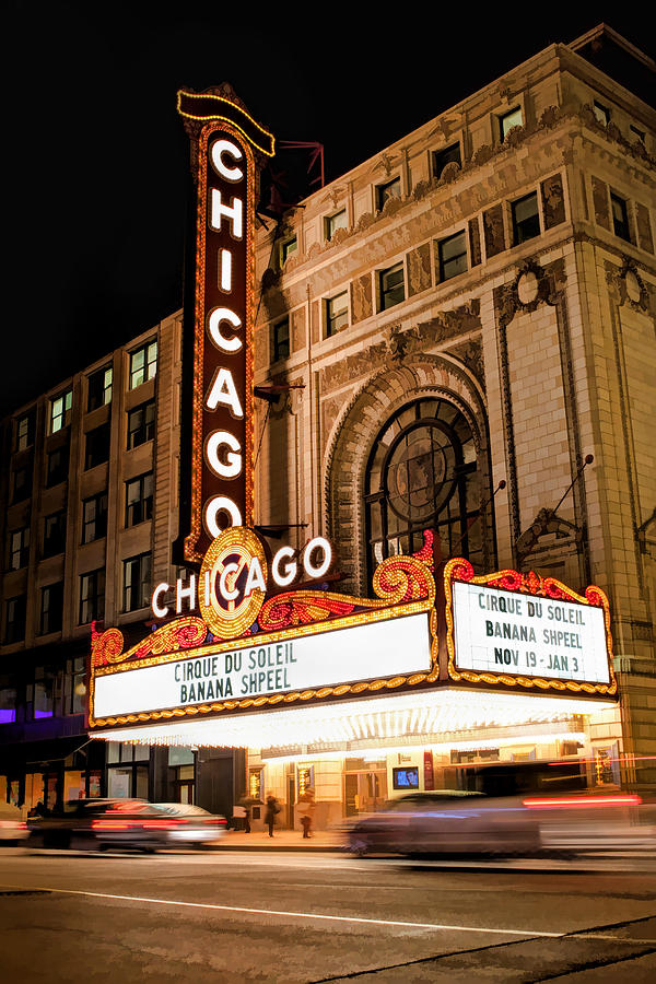The Chicago Theatre Marquee Tour June