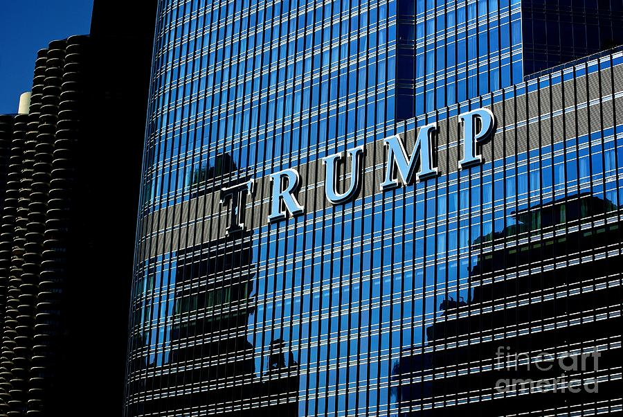 Chicago Photograph - Chicago Trump by Frank J Casella
