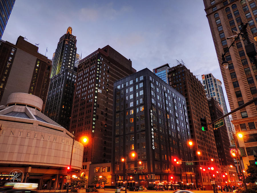 Chicago Photograph - Chicago - Wabash And Wacker 001 by Lance Vaughn