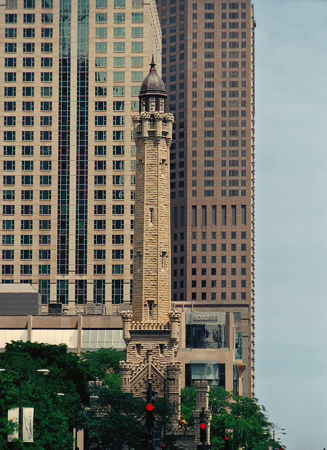 Chicago Water Tower by Peg Urban