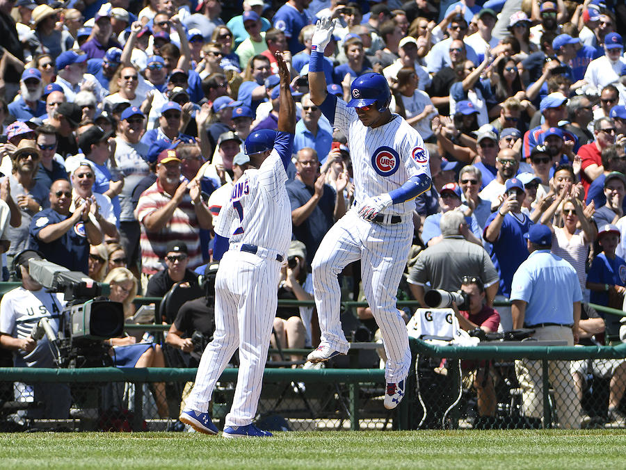 Chicago White Sox v Chicago Cubs Photograph by David Banks