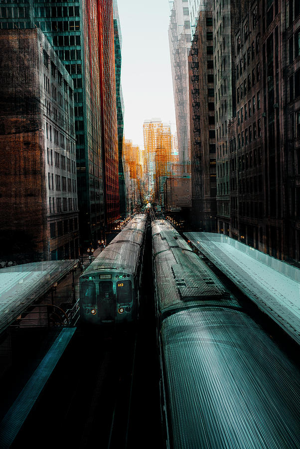 Chicago Photograph - Chicagos Station by Carmine Chiriac?