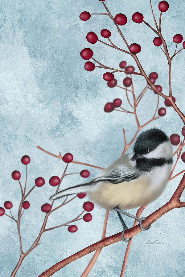 Chickadee I by April Moen