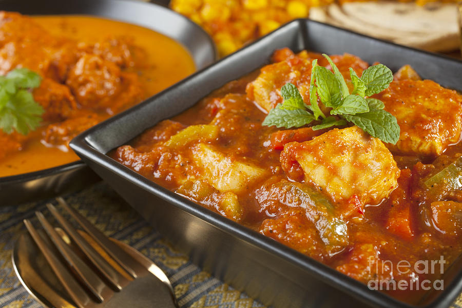 Chana Dhal Photograph - Chicken Jalfrezi Curry by Colin and Linda McKie