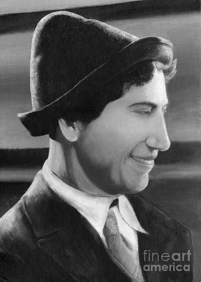 Chico Marx Painting - Chico Marx by Peggy Dreher