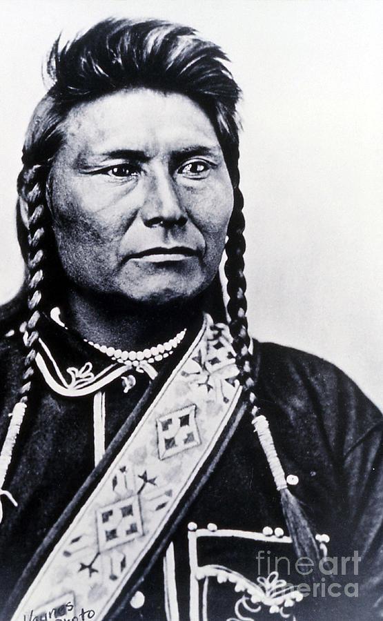 History Photograph - Chief Joseph Nez Perce Leader by NPS Photo